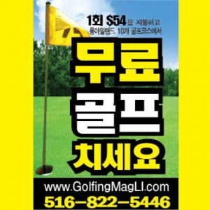 free golf korean