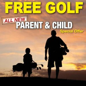 free golf parent and child